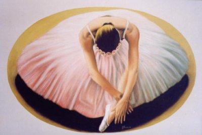 Ballerina abbassata 70x50 2003.jpg