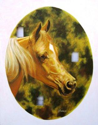Cavallo  baio 40x50 buchi 2008.jpg