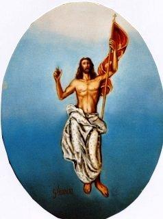 Cristo risorto 30x40 c.t. 1987.JPG