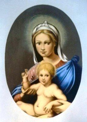 Madonna con Bambino benedicente 50x70 2005.jpg
