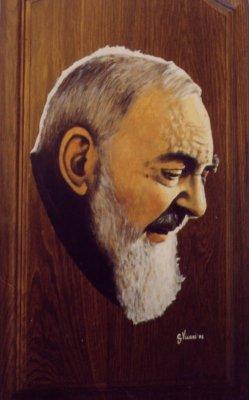 Padre Pio tavola 32x58 2002 .JPG