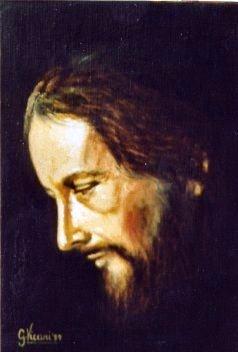 Profilo di Cristo 20x30 1987.JPG