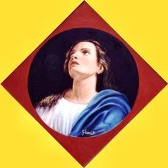 Vergine Immacolata 40x40 1988.JPG